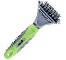 BERSO Best Pet Dematting Comb Tool ~ Great to Brush Medium-Long Hair Dogs & Cats
