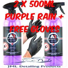 AUTOBRITE DIRECT 2 X 500ML PURPLE RAIN IRON FALLOUT REMOVER ALLOY WHEEL CLEANER+