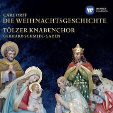 TÖLZER KNABENCHOR - DIE WEIHNACHTSGESCHICHTE  CD NEW+ ORFF,CARL