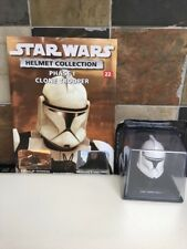 STAR WARS DEAGOSTINI HELMET COLLECTION ISSUE 22 CLONE TROOPER PHASE 1 + MAGAZINE