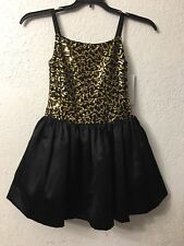 Blush by Us Angels Party Sparkle Gold Dress