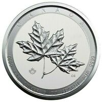 "*SALE* 2020 Canadian Twin Maples 2 oz Silver COIN B/U ""SMALL DINGS ON EDGE"""