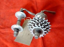 SHIMANO 105 HUBS,  FH-1050 & HB-1050, 7 SPEED, 36 HOLE + CASSETTE, 1980;s