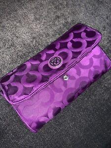 Coach - Women's Purple Small Handbag