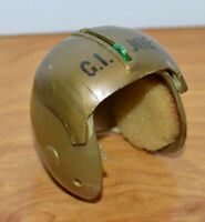 "Vintage GI JOE 12"" Pilot Helmet Accessory SOTW 1969 Hasbro Action Figures Dolls"