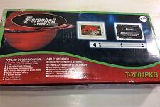 NEW Power Acoustik Farenheit LCD Monitor - TV Receiver & Antenna T-7004PKG #2176