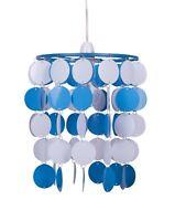 Boys Kids Bedroom Blue City Football Ceiling Light Pendant Shade Lampshade