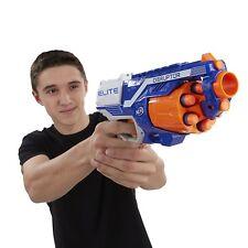 Nerf Guns N-Strike Elite Disruptor Toy Soft Dart Gun Slam-fire action 6 Darts
