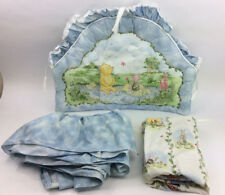 Winnie The Pooh Classic Sheet Crib Skirt Bumper Baby Bedding Set