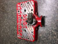 1996 Skidoo MXZ 583 MOTOR PARTS: UNI-HEAD #1231713