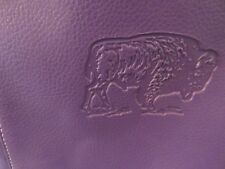Large Purple Laptop, Messenger, Tote With Buffalo