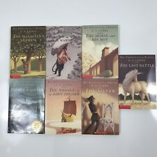 CS Lewis The Chronicles of Narnia Lot of 7 Books Complete Set