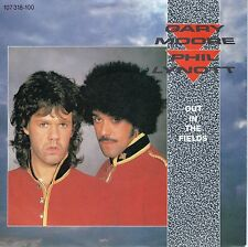 7inch GARY MOORE & PHIL LYNOTT out in the fields HOLLAND EX 1985