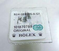 NOS 18k Yellow Gold Rolex 1400 Cellini 4.7mm Gold Crown Watch Part 24-26B306-8