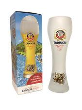 """Erdinger - Bavarian German Beer Glass 0.5 Liter """"Rafting Gaudi - Gaudi Duo"""" NEW"""