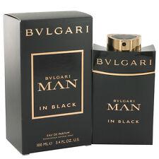 Bvlgari Man In Black 3.4 oz Eau De Parfum Spray by Bvlgari for Men
