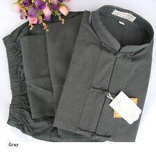 Kung fu Tai chi Wushu Martial Arts Coarse cloth uniform clothes Cotton coat Suit