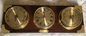 Ensemble de marine Horloge thermomètre Baromètre DUTEC
