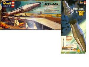 REPRODUCTION DECALS: REVELL ATLAS or  MERCURY-ATLAS or THOR-ABLE