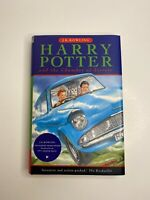 MINT CONDITION HARRY POTTER AND THE CHAMBER OF SECRETS HARDCOVER BOOK