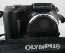 Olympus SP-500UZ Digital Camera - Black 6.0mp 10x Optical Zoom