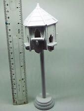 1:12 DOLLS HOUSE miniatura bianco verniciato COLOMBAIA accessorio da giardino