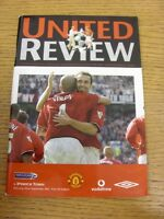 22/09/2001 Manchester United v Ipswich Town  . Thanks for viewing our item, if t