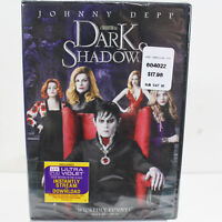 Johnny Depp Dark Shadows DVD 2012 Digital Copy UltraViolet NEW SEALED