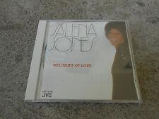 SALENA JONES-MELODIES OF LOVE-CD-IMP-JAPAN-AUDIOPHILE-JVC VDP 5016-LN