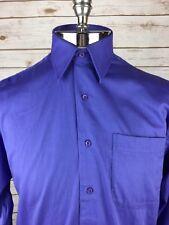 Nordstrom dress shirt Size 15 - 32  Blue Button Down Dress Shirt    ZZ