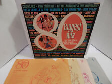80 Biggest Hits ByThe Stars Who Made Them Doo-Wop Funk Various 1965 Set 4 LP EXC