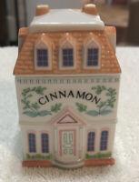 LENOX Spice Village Fine Porcelain CINNAMON House 1989 Handcrafted