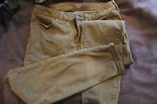 ana green skinny jeans size 10