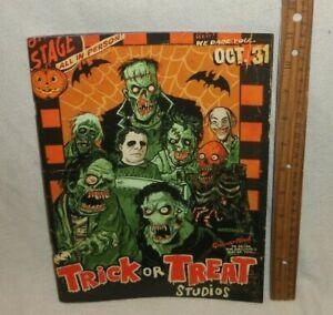 2018 Trick or Treat Studios Mask Catalog Book