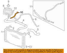 Hummer GM OEM 03-07 H2 6.0L-V8 Radiator-Hose 15058001
