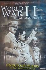 WORLD WAR II THE GERMAN FRONT   DVD   LIKE NEW