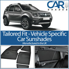 Dacia Duster 5dr 10 On UV CAR SHADES WINDOW SUN BLINDS PRIVACY GLASS TINT BLACK