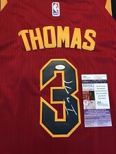 Isaiah Thomas Cleveland Cavaliers Autographed Signed Jersey size L JSA COA