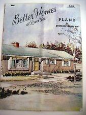 """1958 Kalifornien Haus Pläne Heft """" Standard Homes Co. """" Ext.pics & Boden Pläne"""