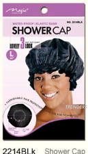 Magic Collection Shower Cap Water Proof with Elastic Band #2214BLA