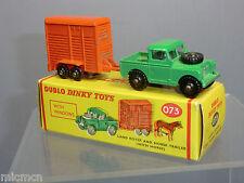 DINKY DUBLO MODEL  No.073 LANDROVER & ,HORSE BOX        VN MIB