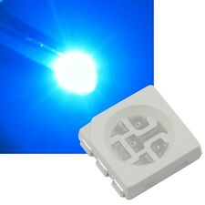 10 blaue 5050 SMD LEDs, 3-Chip / PLCC6 HIGHPOWER blau blue bleu azul Led Smds