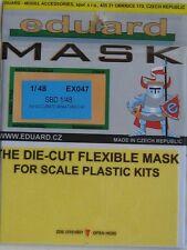 Eduard 1/48 EX047 canopy masque pour les accurate miniatures smd intrépide kit