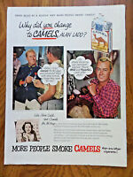 1953 Camel Cigarettes Ad Movie Hollywood Star Alan Ladd