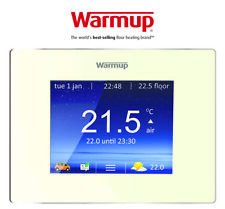 Warmup 4iE Smart WiFi Thermostat - Bright Porcelain