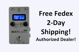 New Singular Sound Beat Buddy Mini 2 Guitar Effects Pedal