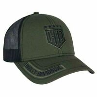 "Harley-Davidson Baseball Cap ""Resolute"" *BCC34394* Olive Snapback onesize Dealer"