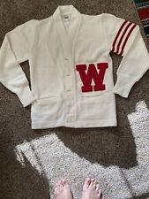 Vintage Wisconsin Badgers Letterman Sweater