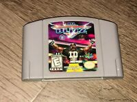 NFL Blitz Nintendo 64 N64 Cleaned & Tested Authentic