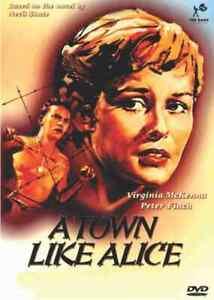 A Town Like Alice - 1956 Peter Finch, Virginia McKenna - Black & White - DVD